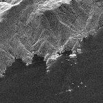 La Concordia vista dallo spazio