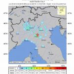 Terromoto al Nord Italia Magnitudo 5,1