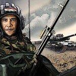 """Barack Obama il """"ribelle"""" siriano"""