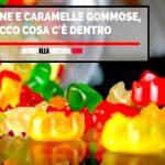 Cosa c'è dentro le caramelle gommose e le gelatine colorate?