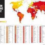 L'indice della corruzione nel Mondo