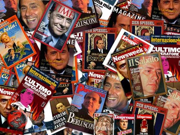Berlusconi-copertine-riviste