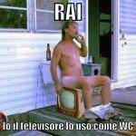 Spot canone Rai: usi il televisore come Wc? Paghi lo stesso
