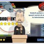 Dai due schiaffi a Beppe Grillo