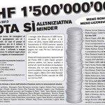 In Svizzera alle urne per tagliare gli stipendi ai manager