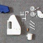 La pistola di plastica che uccide