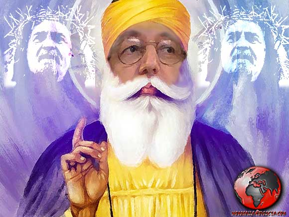 Gesù Grillo e il guru Casaleggio