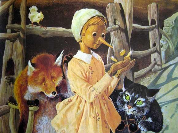 Pinocchio-gatto-volpe
