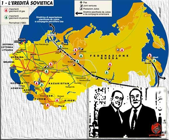Berlusconi e Nazarbayev