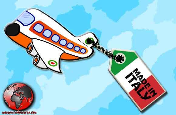 Fuga all'estero del Made in Italy