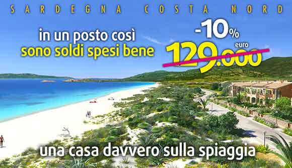 Casa sulla spiaggia in Sardegna
