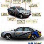 Il radar fotonico e l'automobile senza guidatore