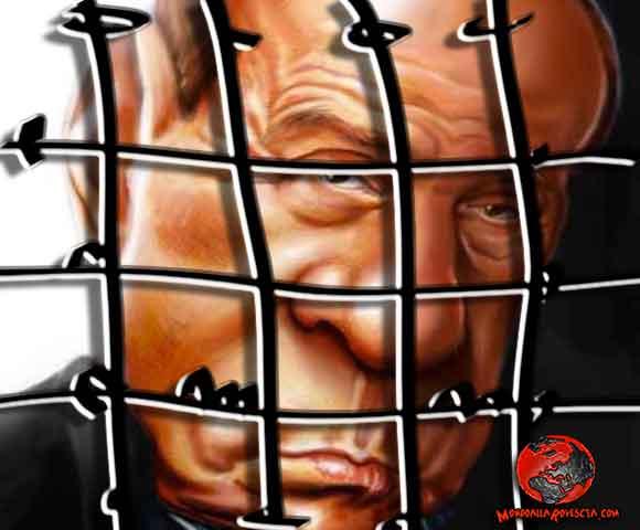 Berlusconi in carcere