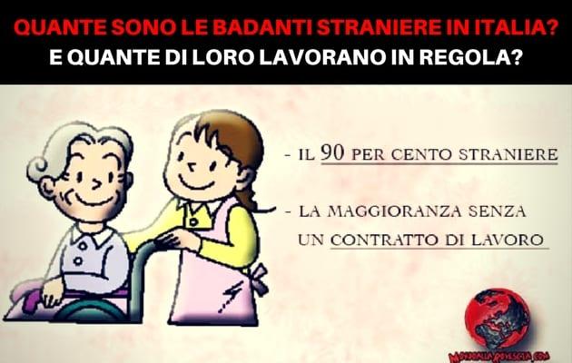 Quante sono le badanti in Italia?