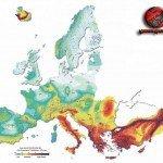 La mappatura sismica di tutta l'Europa