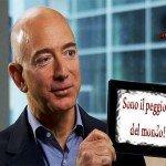 Jeff Bezos, boss di Amazon, è il peggior capo al mondo