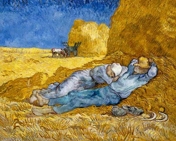 La siesta - Van Gogh
