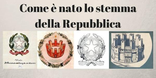 bozzetti Emblema della Repubblica Italiana