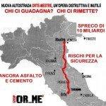 Stop Autostrada Orte-Mestre. Un'altra grande opera inutile e dannosa