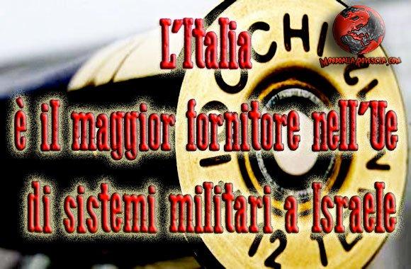 Italia-armi-Israele