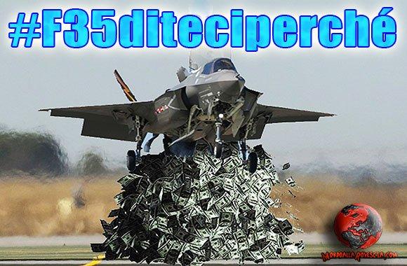 #F35diteciperché-Governo-Renzi-caccia-F35