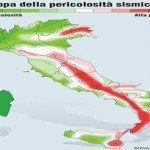 In Italia 2000 terremoti l'anno. Sono 26 milioni gli italiani in pericolo
