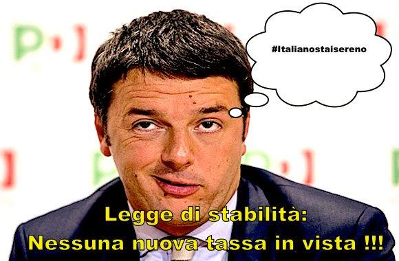 Matteo Renzi-#italianostaisereno