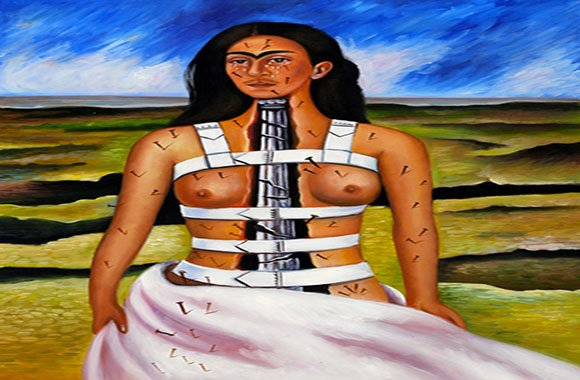 La colonna rotta 1944 - Frida Kahlo