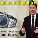 Regala anche tu a Renzi un orologio da 15mila euro
