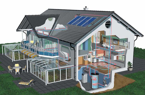 Costruire con intelligenza la casa passiva riscaldata dal - Costruire la casa ...