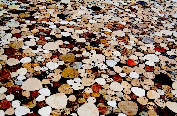 mosaici in pietra per rivestimento bagni