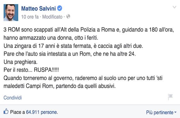 Matteo Salvini-rom