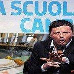 """Nella """"Buona Scuola"""" di Renzi il 40% degli istituti è senza mensa"""