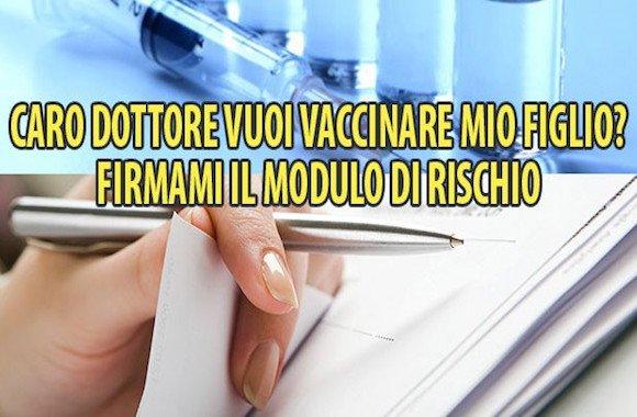 modulo di rischio-vaccino