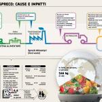 Lo spreco alimentare costa all'ambiente, al portafoglio e alla società