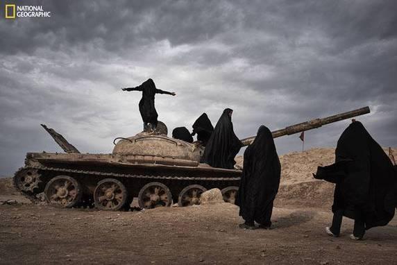 "Yanan Li, ""Overlooking Iraq from Iran"", Shalamcheh, Khuzestan, Iran"