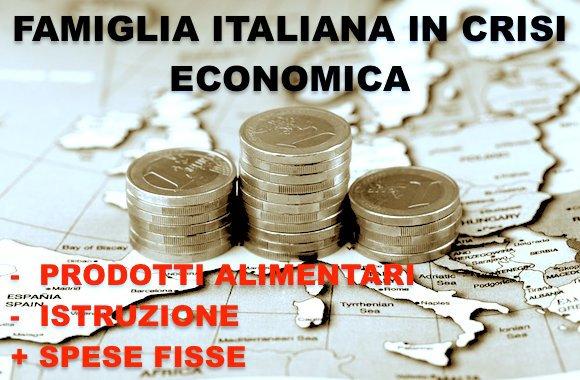 crisi famiglia italiana