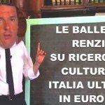 Italia maglia nera per investimenti in educazione e cultura