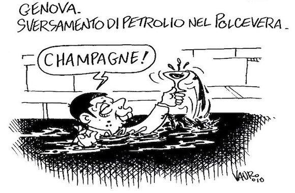 Vauro-vignetta-petrolio-Genova
