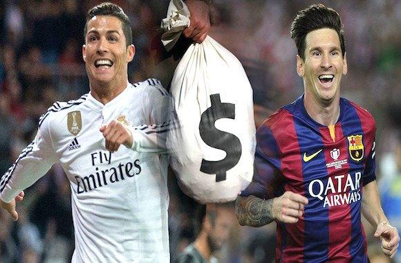 Cristiano Ronaldo-Messi
