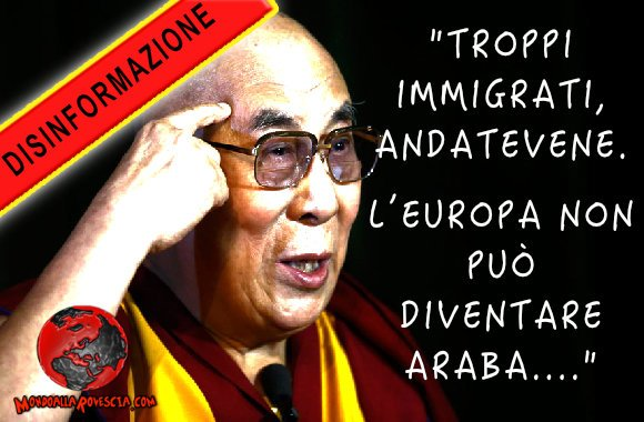 Dalai Lama immigrazione