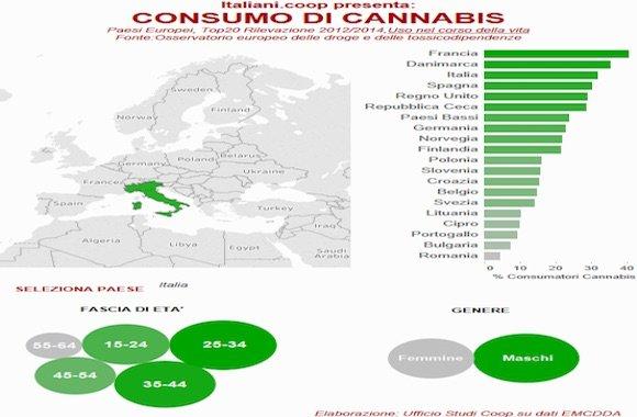 consumo di cannabis