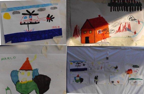 disegni bambini-terremoto