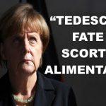 La Germania invita i suoi cittadini a fare scorte alimentari