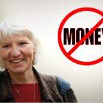 La donna che visse felice senza soldi