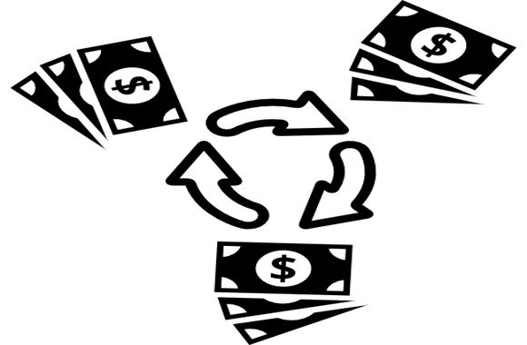 Risultati immagini per circolazione denaro ricchezza