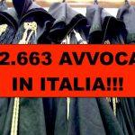 Troppi avvocati, 5 ogni 1000 abitanti