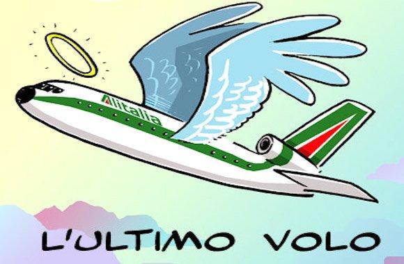 L'ultimo volo di Alitalia