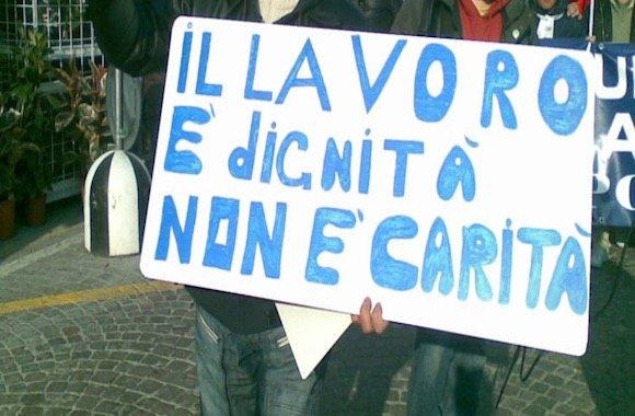disoccupazione in Calabria