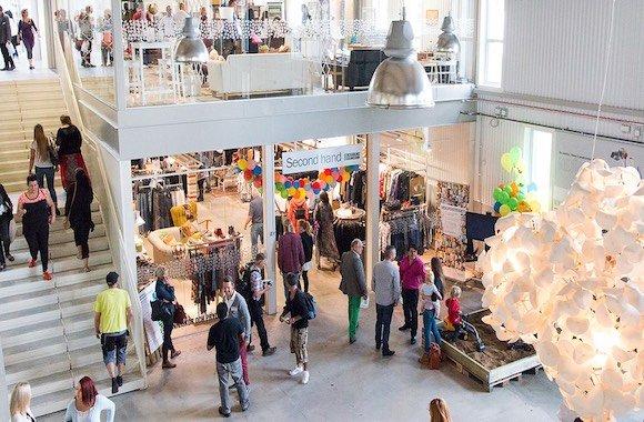 economia circolare: ReTuna Recycling Gallery